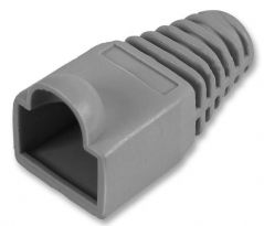 PRO POWER SH001 5 GREY  Strain Relief Boot 5Mm Grey 10/Pack